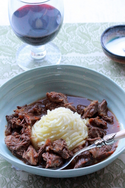 Braised Beef Cheeks – Sunday comfort food