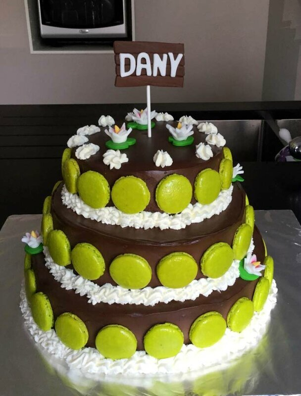 Gâteau pièce montée
