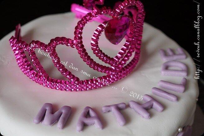 Un pinata cake pour ma princesse