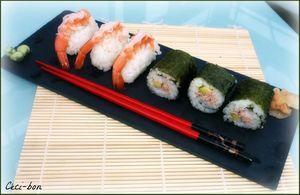 Sushis (Nigiri et Maki)