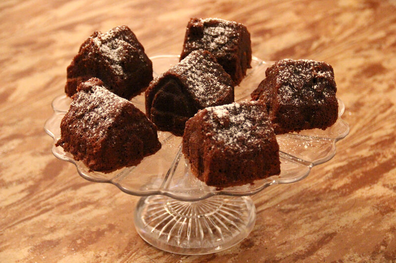 La recette de l'irremplaçable fondant au chocolat (avec un test de moule maisonnettes)