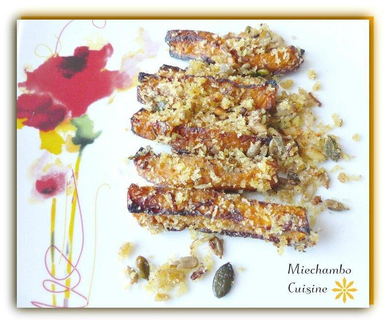 Butternut rôtie au cumin et aux graines