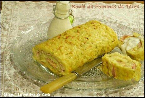 """ღ """" Miam """" Roulé de Pommes de Terre"""