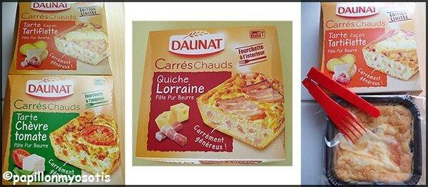 LES CARRES CHAUDS DE DAUNAT [#TESTPRODUITS #SNACKING]