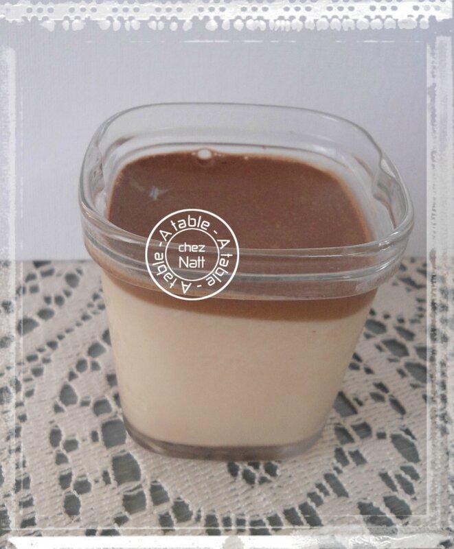 Yaourts originaux au chocolat