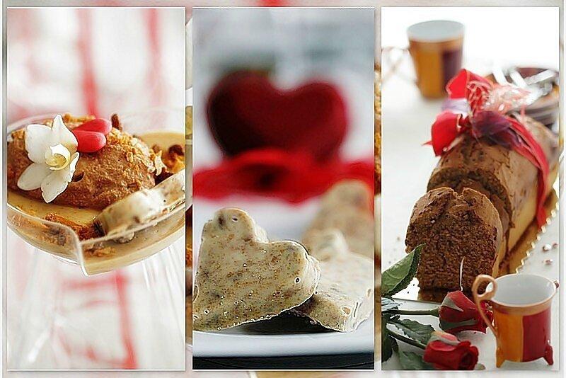 Crémeux pain d'épices, chantilly chocolat et biscuit croquant.....