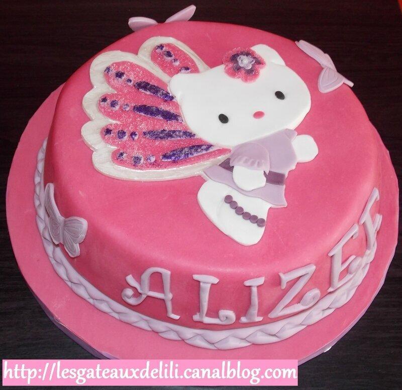 Gâteau Hello Kitty (le 8ème !!!)
