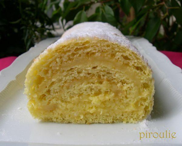 Gâteau roulé au citron de C. Felder : une merveille de légèreté !