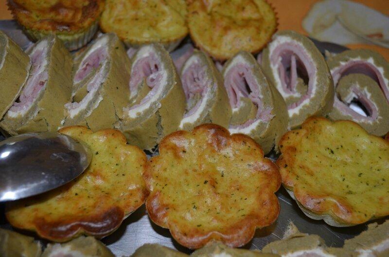 Roulé haricots verts jambon kiri