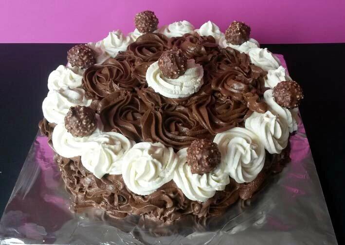 Gâteau mousse au chocolat hypergourmand