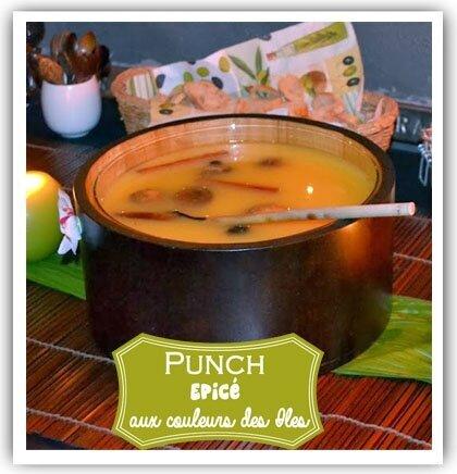 Punch épicé aux couleurs des Iles