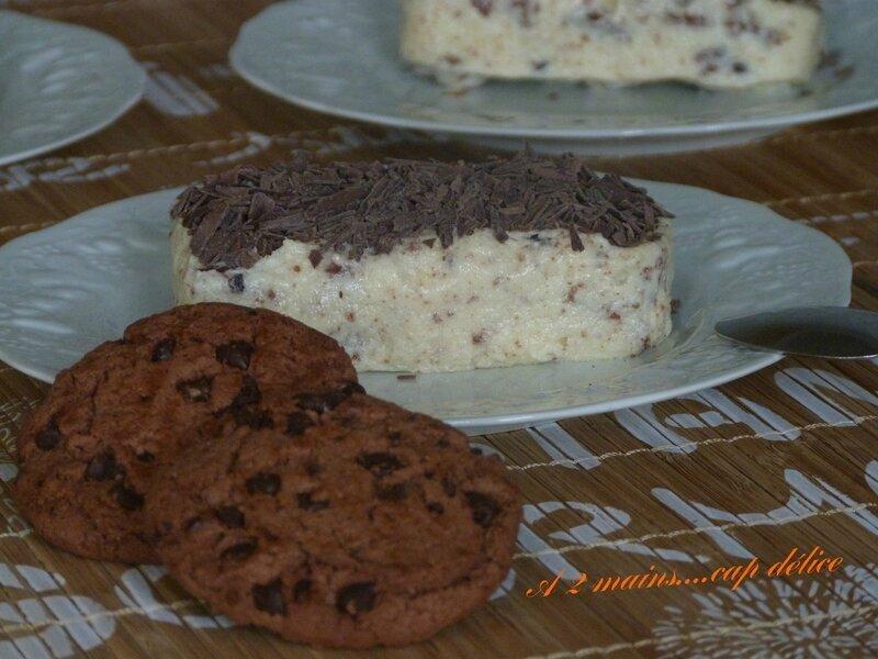 TERRINETTE AU CHOCOLAT BLANC COOKIES tupperware