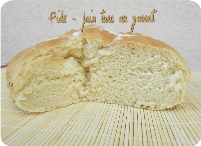 Pide (pain turc) - recette pour MAP
