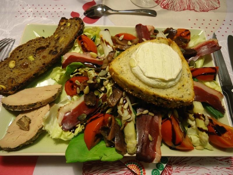 La salade périgourdine d'Elodie