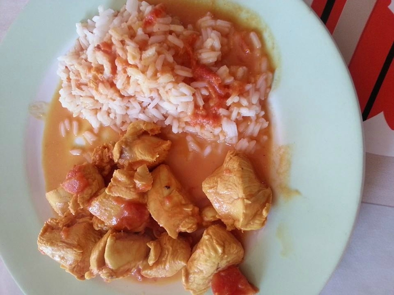 poulet au curry tupperware microcook
