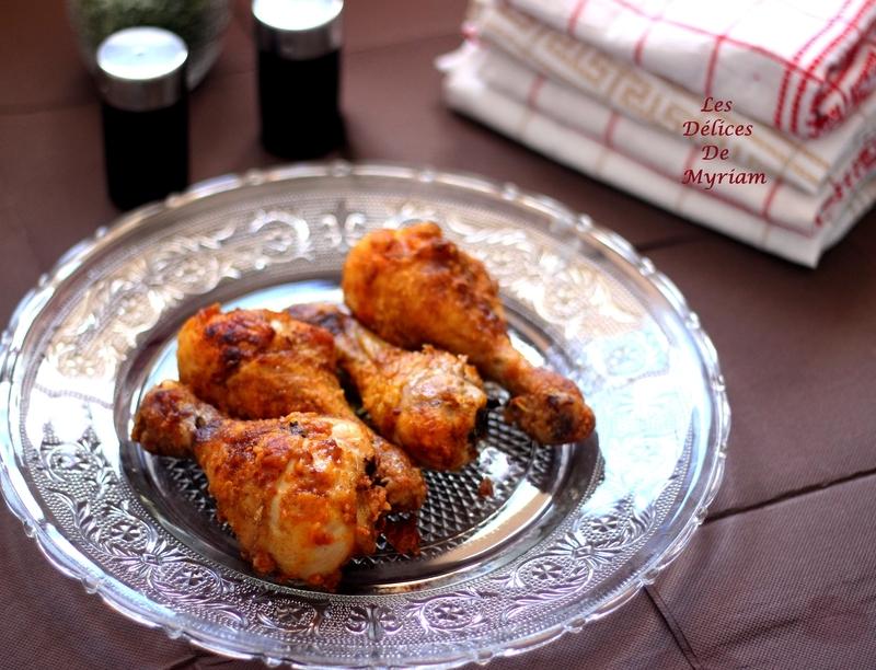 Pilons de poulet croustillants au four