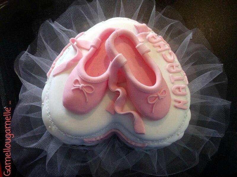 Gâteau ballerines