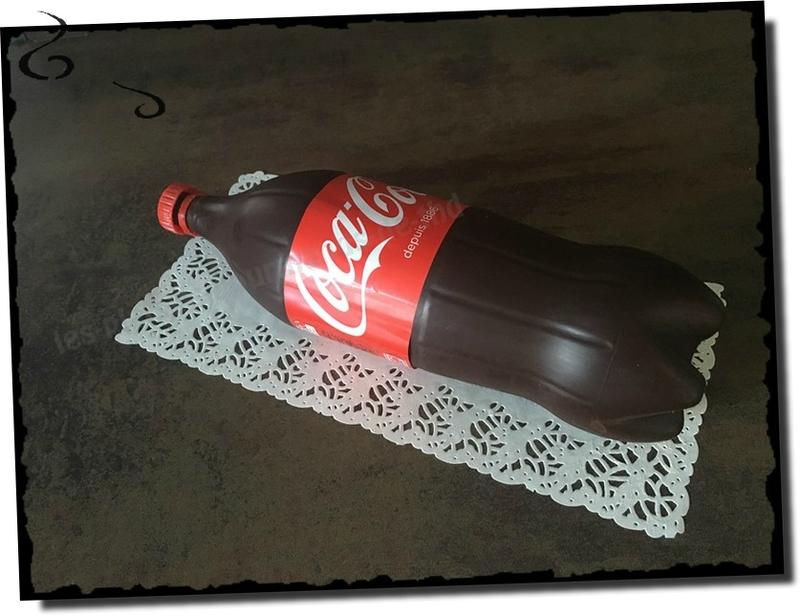 Coca-Cola Bottle Cake
