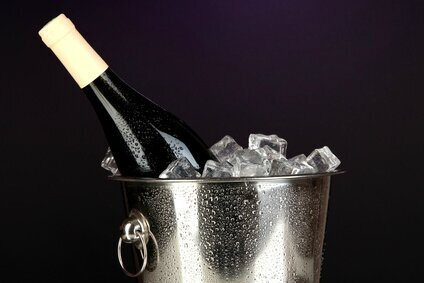 La température idéale de service du vin