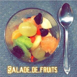 """ღ """" Miam """" Salade de fruits Jolie jolie jolie ♫"""