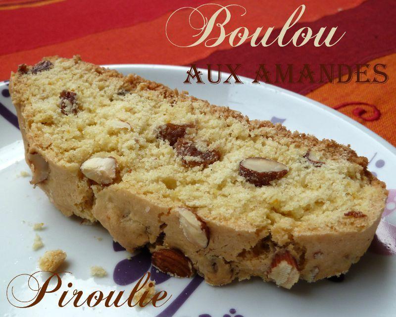 Boulou tunisien aux amandes et aux raisins secs : la meilleure recette !