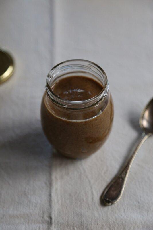 Purée de noix torréfiées à la vanille