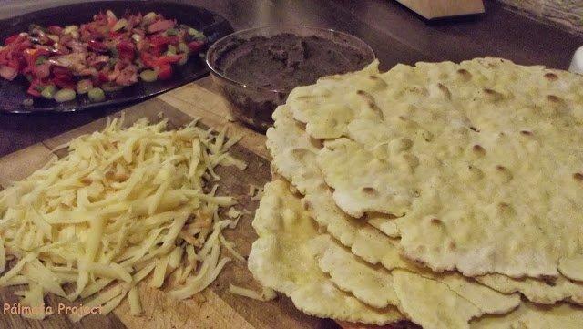 Vendégváró házi tortilla