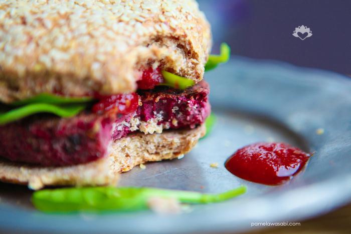 Protein Veggie Burger