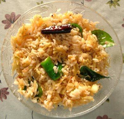 Quick Mango Rice / Maanga Saadam