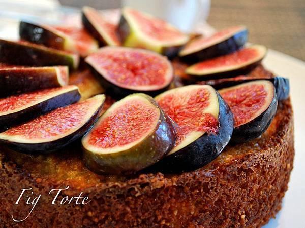 焙。歐風小午茶~無花果杏仁蛋糕 Fig Torte