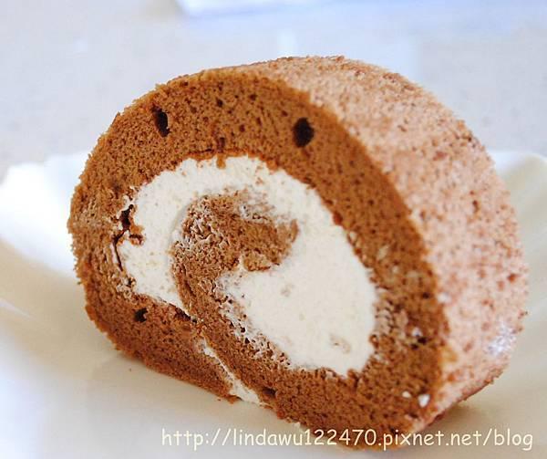 巧克力鮮奶油蛋糕卷 (孟老師美味蛋糕卷)