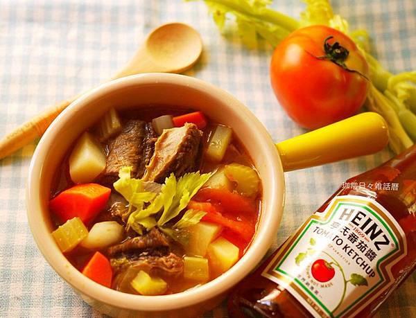 野菜牛腩羅宋湯❤元氣滿滿的湯品