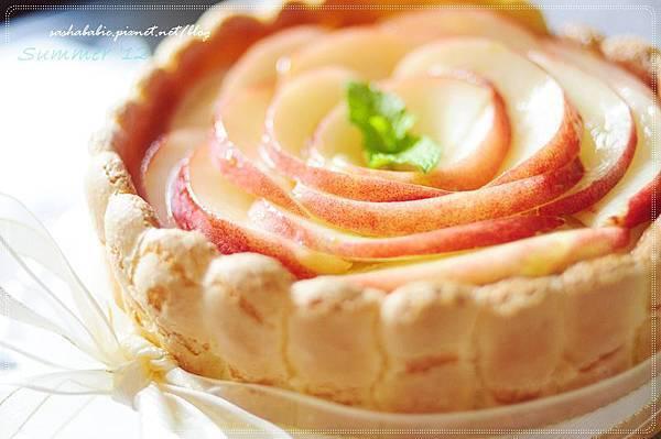 〔食譜〕☼ 今年夏天的本命甜點。香甜多汁的水蜜桃夏洛特 charlotte aux pêches ♥♥♥