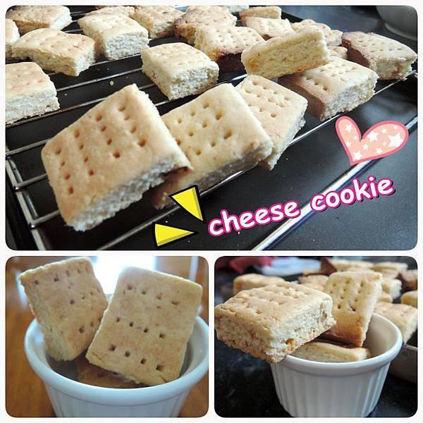 [餅乾食譜]香濃乳酪方塊餅乾~love for cheese