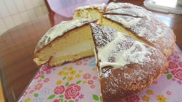 樸實的美味蛋糕~波士頓派~第四次做...尚未成功