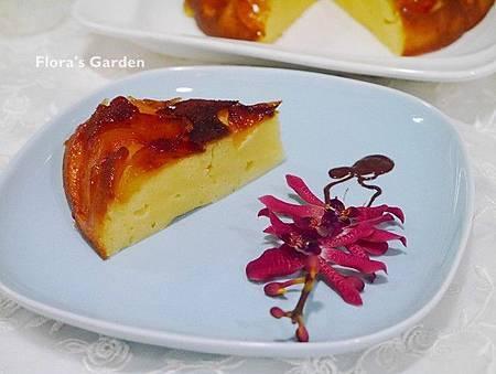 免烤箱--電子鍋做蘋果起司蛋糕