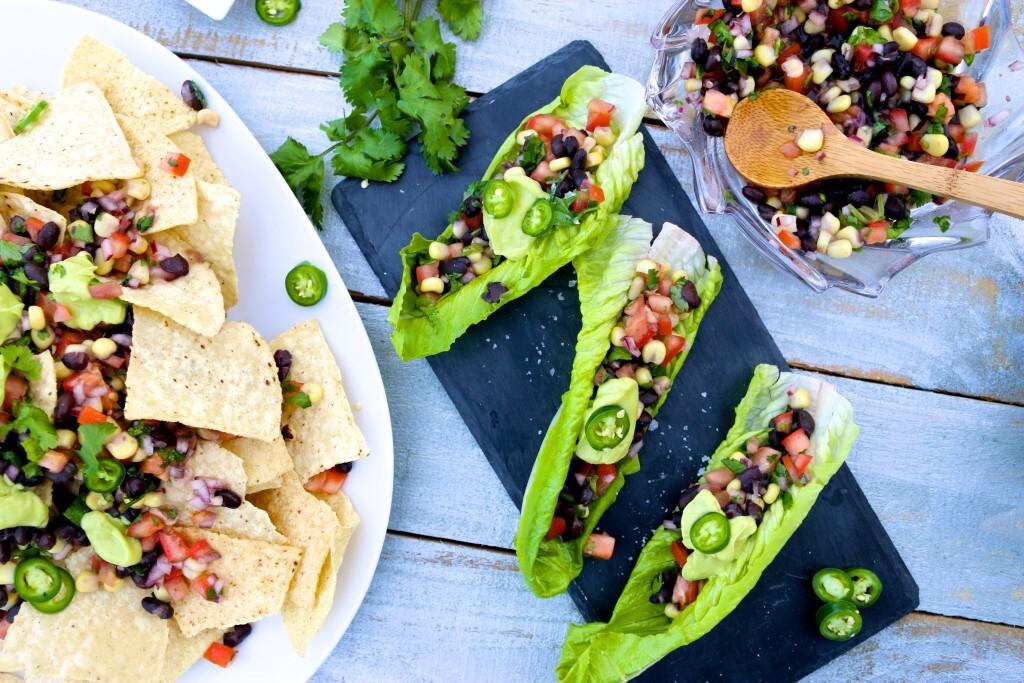 Pico de gallo: nachos o tacos