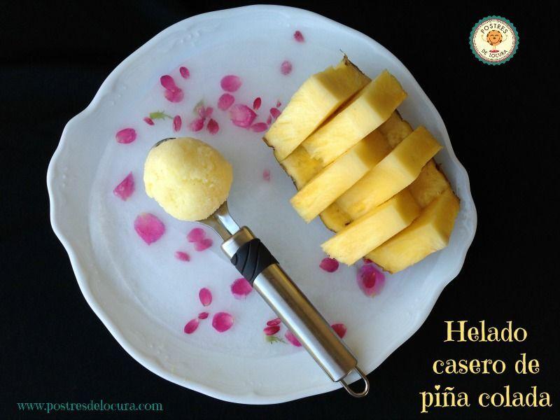 HELADO DE PIÑA COLADA