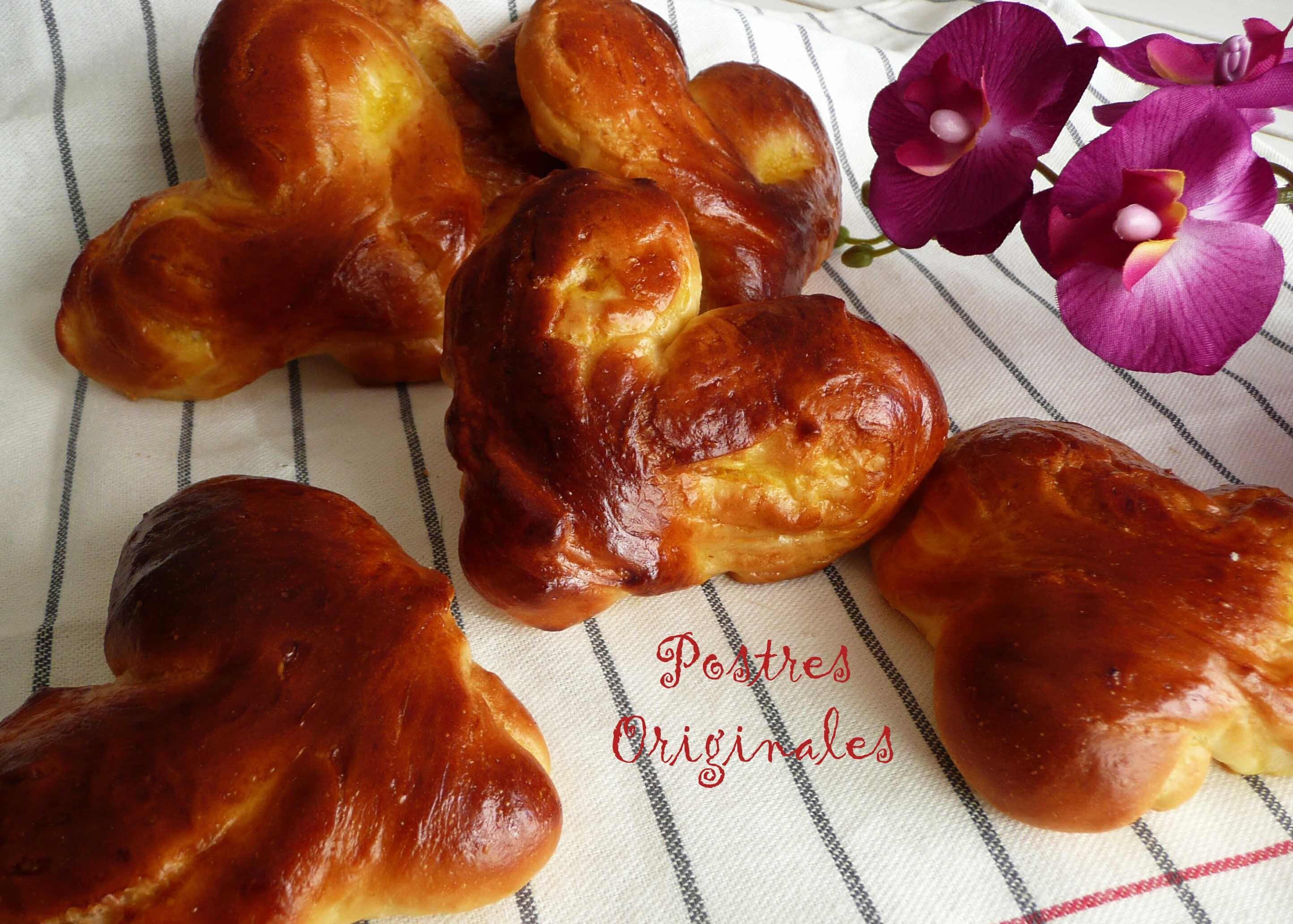 Pan de Leche para San Valentín