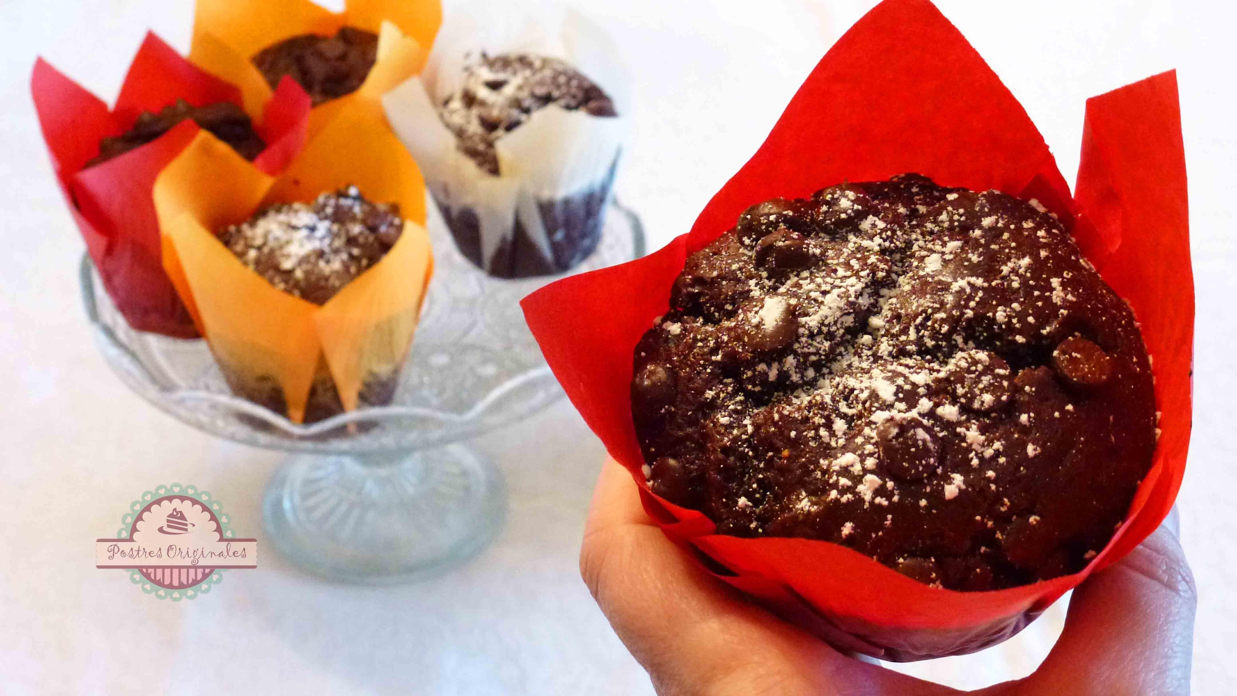 Muffins de Chocolate XL