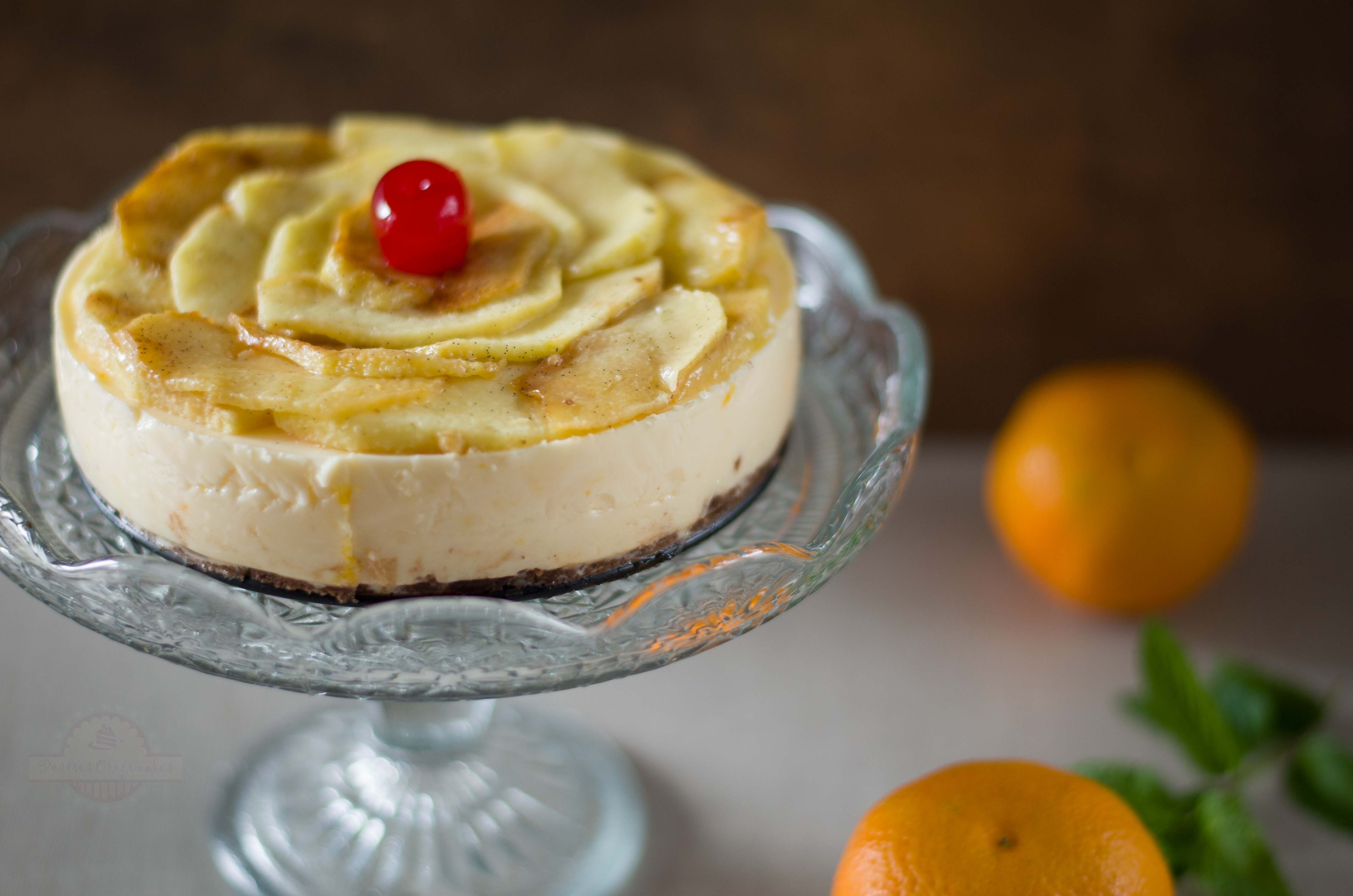 Tarta de Mandarina y Manzana