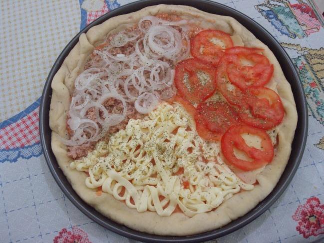 de catupiry para pizza para congelar