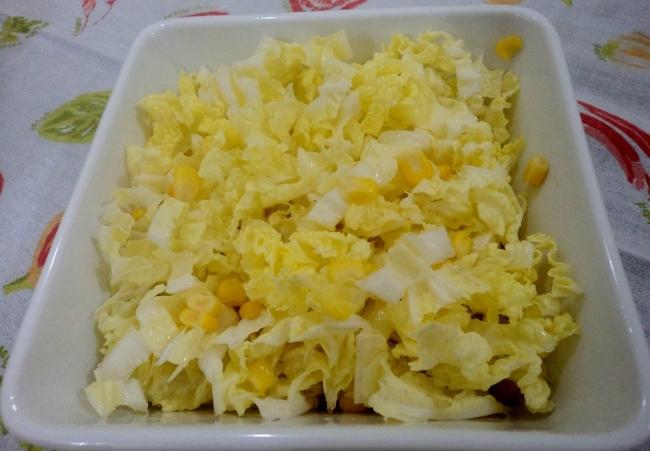 Salada de Acelga com Milho