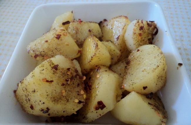 Batatas Temperadas
