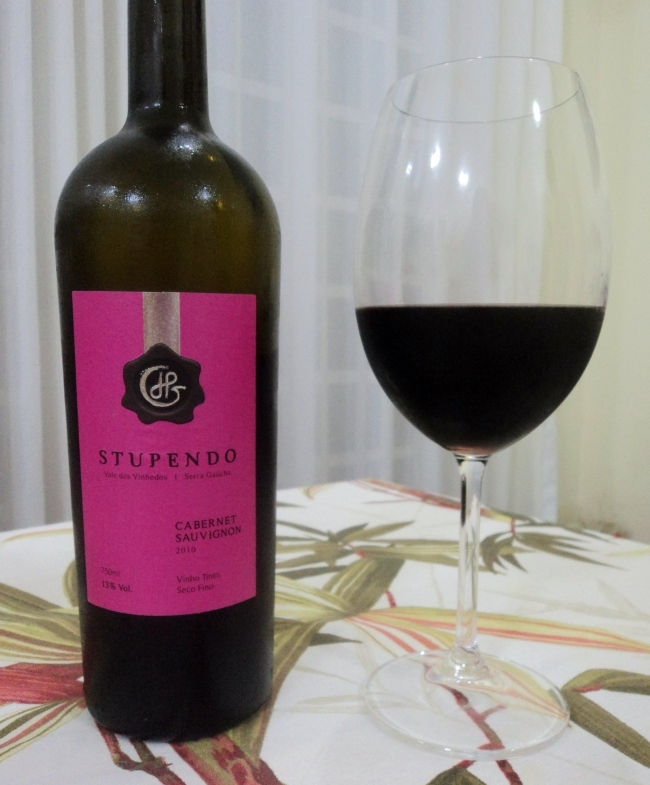 Vinho Stupendo Cabernet Sauvignon LPG Wines