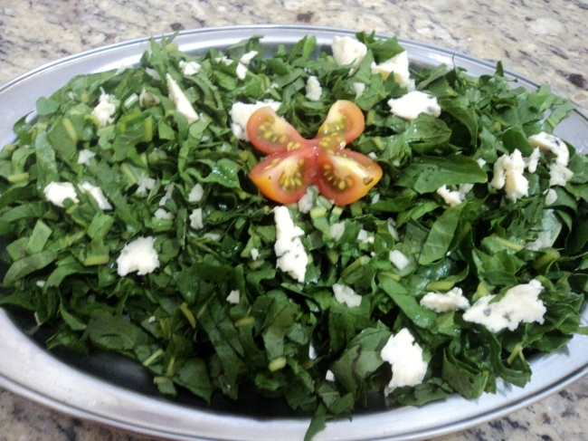 como preparar catalonia-verdura
