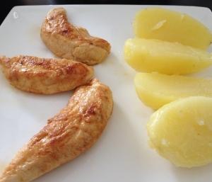 Aiguillettes de poulet épicées