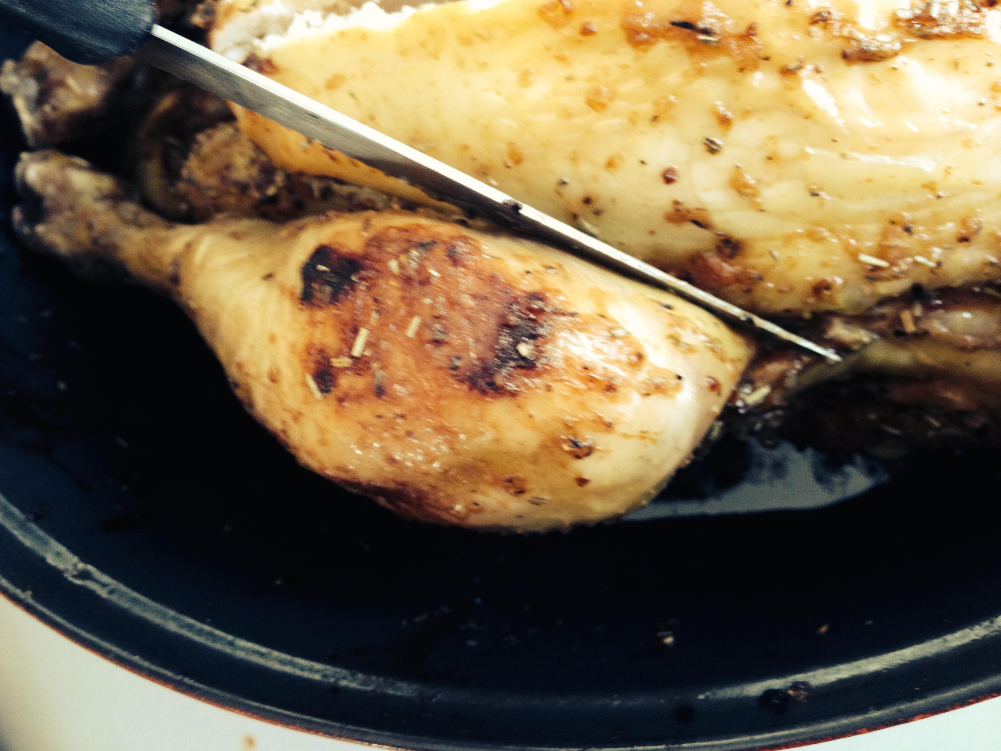 LE poulet rôti