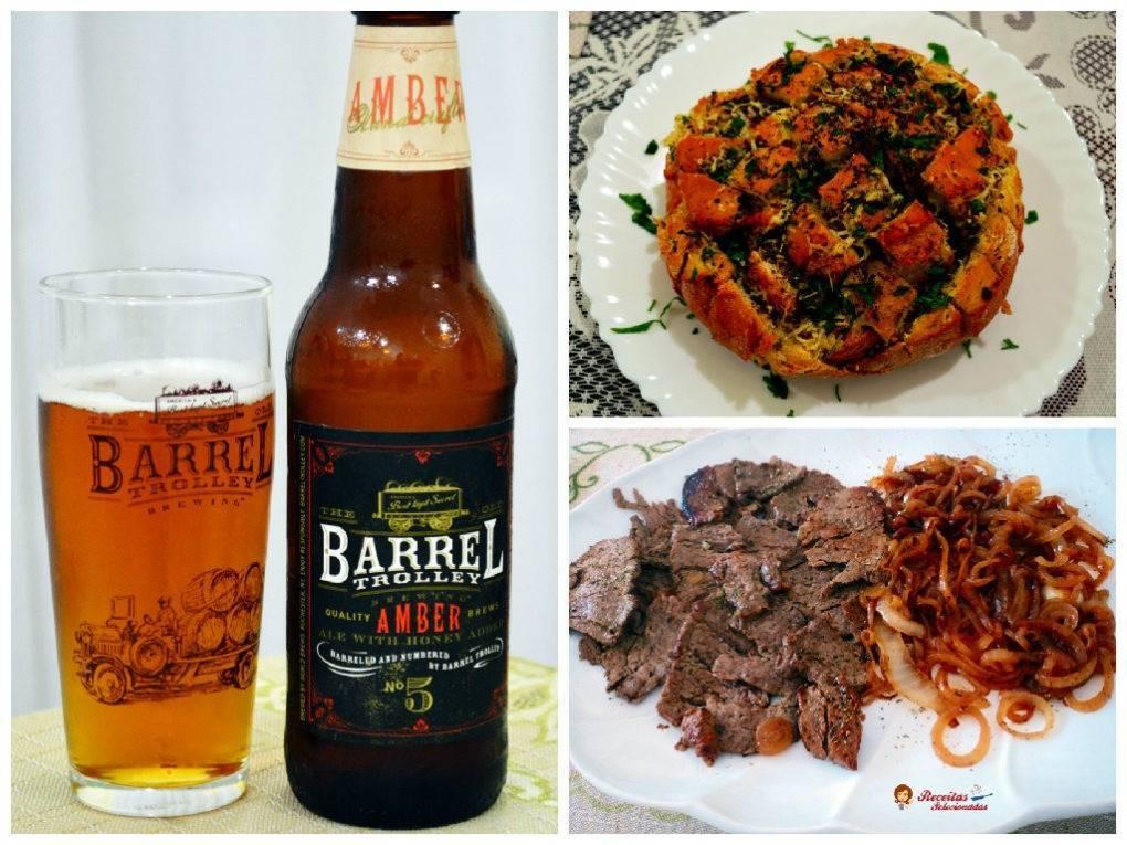 "Cerveja Barrel Trolley Amber Ale ""Clube do Malte"""