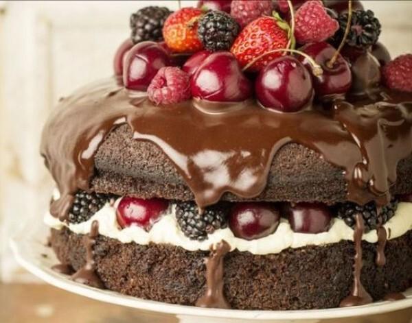 Cobertura para Naked Cake